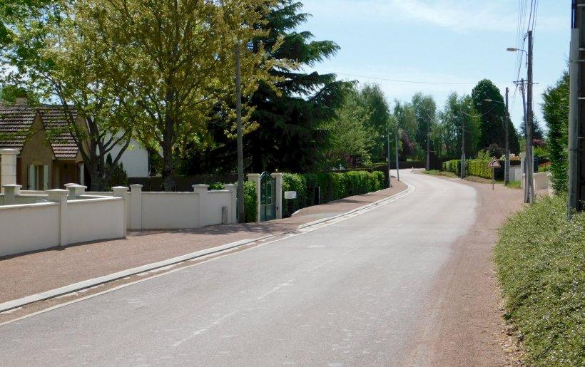 Route de Trangy